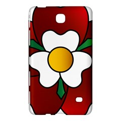Flower Rose Glass Church Window Samsung Galaxy Tab 4 (7 ) Hardshell Case  by Nexatart