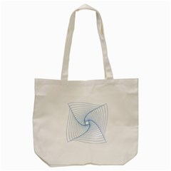 Spirograph Pattern Drawing Design Tote Bag (cream) by Nexatart