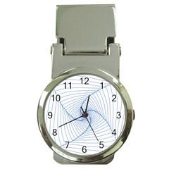 Spirograph Pattern Drawing Design Money Clip Watches