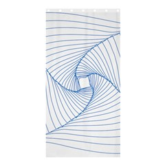 Spirograph Pattern Drawing Design Shower Curtain 36  X 72  (stall)  by Nexatart