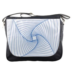 Spirograph Pattern Drawing Design Messenger Bags by Nexatart