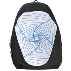 Spirograph Pattern Drawing Design Backpack Bag