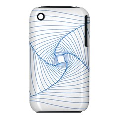 Spirograph Pattern Drawing Design Iphone 3s/3gs by Nexatart