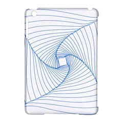 Spirograph Pattern Drawing Design Apple Ipad Mini Hardshell Case (compatible With Smart Cover) by Nexatart