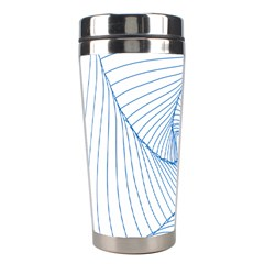Spirograph Pattern Drawing Design Stainless Steel Travel Tumblers by Nexatart
