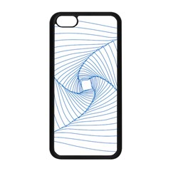 Spirograph Pattern Drawing Design Apple Iphone 5c Seamless Case (black) by Nexatart