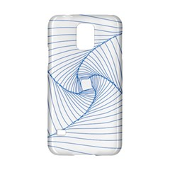 Spirograph Pattern Drawing Design Samsung Galaxy S5 Hardshell Case  by Nexatart