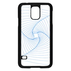 Spirograph Pattern Drawing Design Samsung Galaxy S5 Case (black) by Nexatart