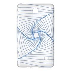 Spirograph Pattern Drawing Design Samsung Galaxy Tab 4 (7 ) Hardshell Case