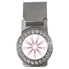 Spirograph Pattern Circle Design Money Clips (cz)  by Nexatart