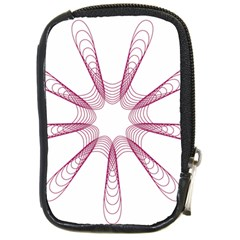 Spirograph Pattern Circle Design Compact Camera Cases by Nexatart