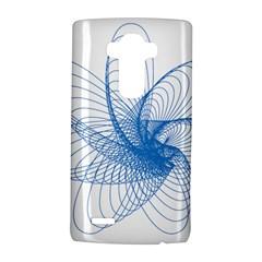 Spirograph Pattern Drawing Design Blue Lg G4 Hardshell Case by Nexatart