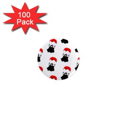 Pattern Sheep Parachute Children 1  Mini Magnets (100 Pack)
