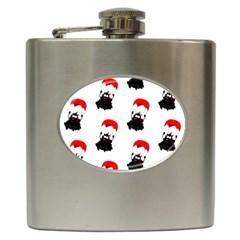 Pattern Sheep Parachute Children Hip Flask (6 Oz) by Nexatart
