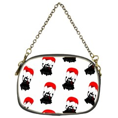 Pattern Sheep Parachute Children Chain Purses (two Sides)  by Nexatart