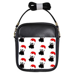 Pattern Sheep Parachute Children Girls Sling Bags by Nexatart