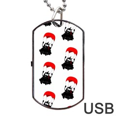 Pattern Sheep Parachute Children Dog Tag Usb Flash (one Side)