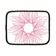 Spirograph Pattern Drawing Design Netbook Case (small)