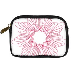 Spirograph Pattern Drawing Design Digital Camera Cases