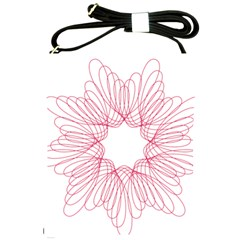Spirograph Pattern Drawing Design Shoulder Sling Bags by Nexatart