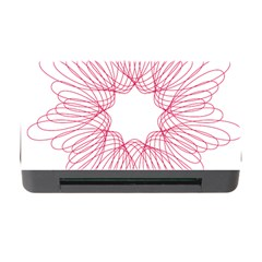 Spirograph Pattern Drawing Design Memory Card Reader With Cf by Nexatart