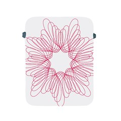 Spirograph Pattern Drawing Design Apple Ipad 2/3/4 Protective Soft Cases