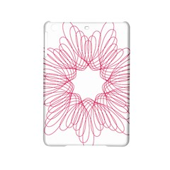 Spirograph Pattern Drawing Design Ipad Mini 2 Hardshell Cases by Nexatart