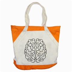 Brain Mind Gray Matter Thought Accent Tote Bag by Nexatart
