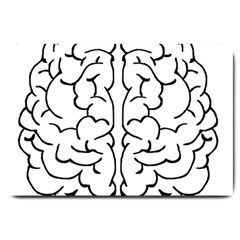 Brain Mind Gray Matter Thought Large Doormat