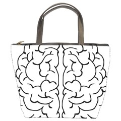 Brain Mind Gray Matter Thought Bucket Bags