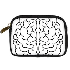 Brain Mind Gray Matter Thought Digital Camera Cases