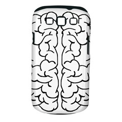 Brain Mind Gray Matter Thought Samsung Galaxy S Iii Classic Hardshell Case (pc+silicone) by Nexatart