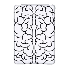 Brain Mind Gray Matter Thought Apple Ipad Mini Hardshell Case (compatible With Smart Cover)