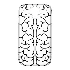 Brain Mind Gray Matter Thought Samsung Galaxy S4 Classic Hardshell Case (pc+silicone) by Nexatart