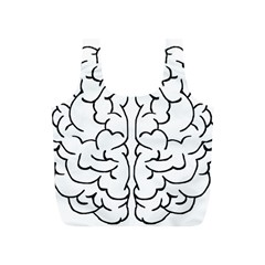 Brain Mind Gray Matter Thought Full Print Recycle Bags (s)