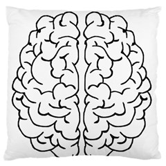 Brain Mind Gray Matter Thought Standard Flano Cushion Case (two Sides)