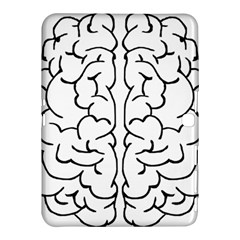 Brain Mind Gray Matter Thought Samsung Galaxy Tab 4 (10 1 ) Hardshell Case