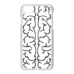 Brain Mind Gray Matter Thought Apple Iphone 7 Seamless Case (white)