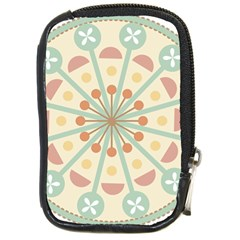 Blue Circle Ornaments Compact Camera Cases by Nexatart