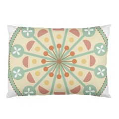 Blue Circle Ornaments Pillow Case (two Sides)