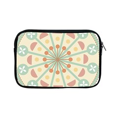 Blue Circle Ornaments Apple Ipad Mini Zipper Cases