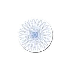 Spirograph Pattern Circle Design Golf Ball Marker (10 Pack) by Nexatart