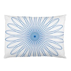 Spirograph Pattern Circle Design Pillow Case (two Sides)