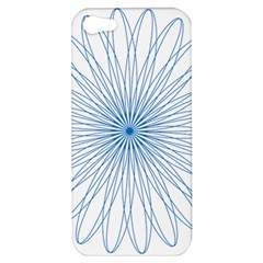 Spirograph Pattern Circle Design Apple Iphone 5 Hardshell Case by Nexatart