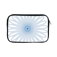 Spirograph Pattern Circle Design Apple Ipad Mini Zipper Cases by Nexatart