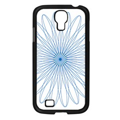 Spirograph Pattern Circle Design Samsung Galaxy S4 I9500/ I9505 Case (black)