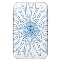 Spirograph Pattern Circle Design Samsung Galaxy Tab 3 (8 ) T3100 Hardshell Case