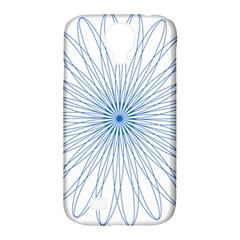 Spirograph Pattern Circle Design Samsung Galaxy S4 Classic Hardshell Case (pc+silicone) by Nexatart