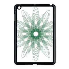 Spirograph Pattern Circle Design Apple Ipad Mini Case (black) by Nexatart