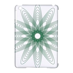 Spirograph Pattern Circle Design Apple Ipad Mini Hardshell Case (compatible With Smart Cover) by Nexatart